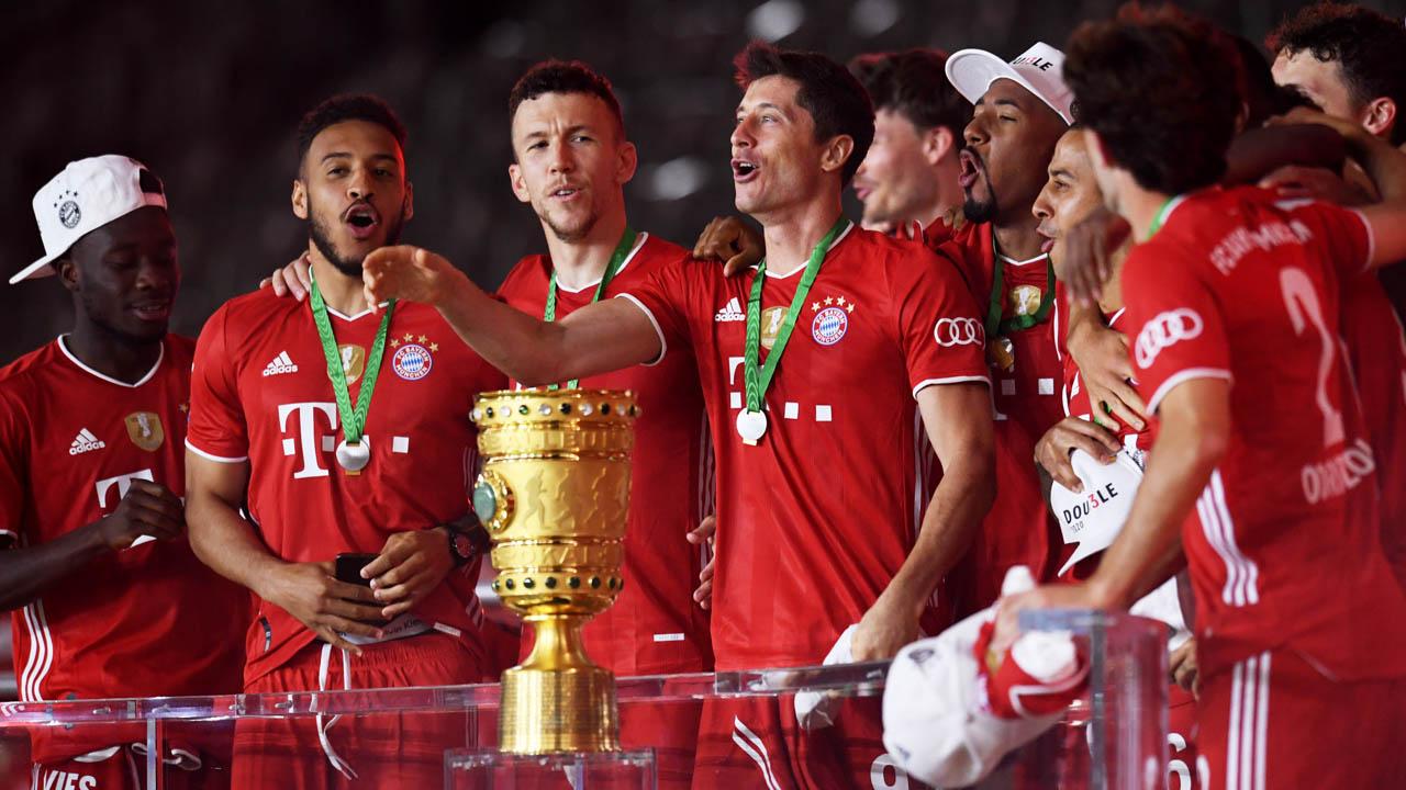 Lewandowski passes 50-goal mark as Bayern win 20th German CupSport ...