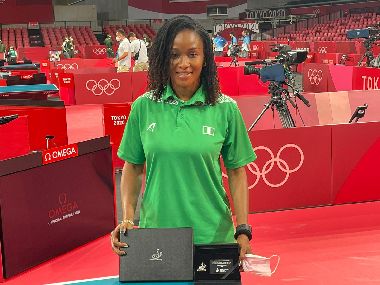 Funke Oshonaike officially inducted into Olympics table tennis 'Club 7' |  The Guardian Nigeria News - Nigeria and World News — Sport — The Guardian  Nigeria News – Nigeria and World News